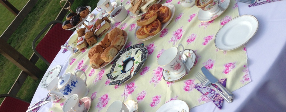 Balsamic Fig Outside Catering - Vintage Afternoon Teas